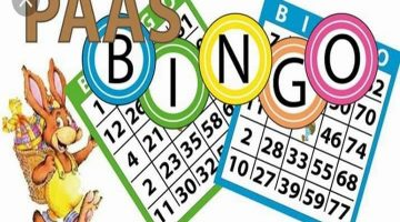 Paasbingo: Zaterdag 20 April: 13:00 tot 15:30
